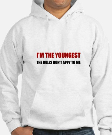 Youngest Rules Don't Apply Sweatshirt