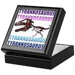 Tyrannosaurus Keepsake Box