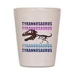 Tyrannosaurus Shot Glass