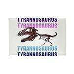 Tyrannosaurus Rectangle Magnet (100 pack)