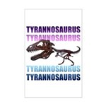 Tyrannosaurus Mini Poster Print