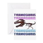 Tyrannosaurus Greeting Cards (Pk of 10)