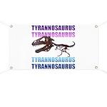 Tyrannosaurus Banner