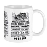 RAILROAD OUTRAGE Mug