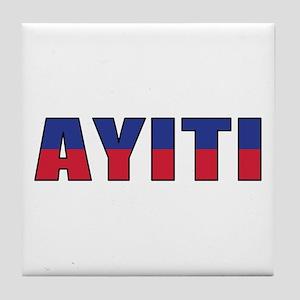 Haiti (Creole) Tile Coaster