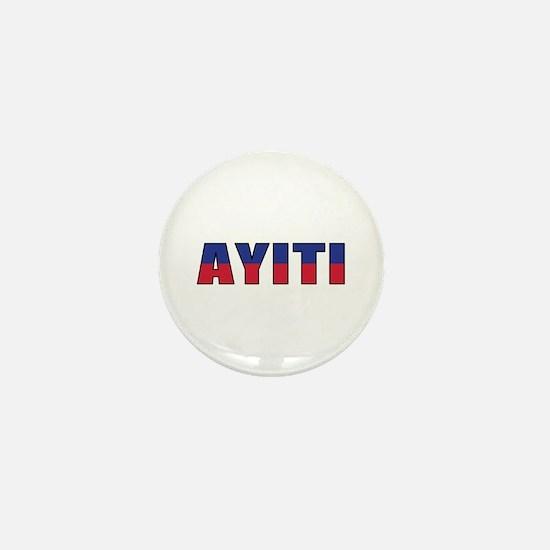 Haiti (Creole) Mini Button