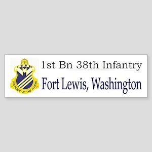 1st Bn 38th Infantry Sticker (Bumper)