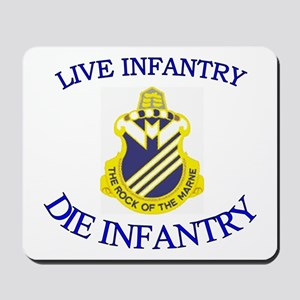 1st Bn 38th Infantry Mousepad