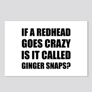 Redhead Called Ginger Snap Postcards (Package of 8