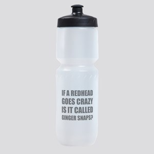 Redhead Called Ginger Snap Sports Bottle