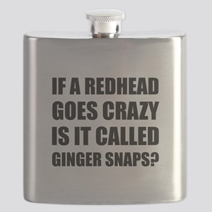 Redhead Called Ginger Snap Flask