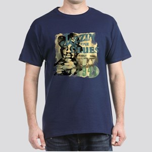 Jazzin The Blues Dark T-Shirt