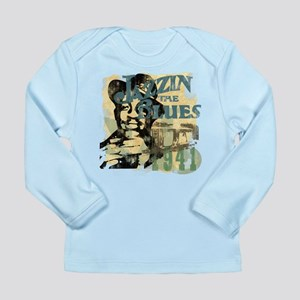 Jazzin The Blues Long Sleeve Infant T-Shirt