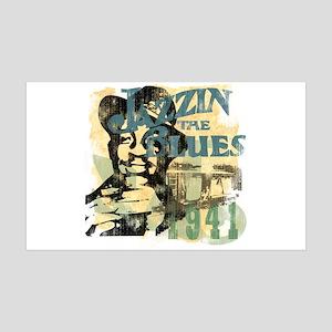 Jazzin The Blues 38.5 x 24.5 Wall Peel