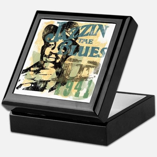 Jazzin The Blues Plectrum Box