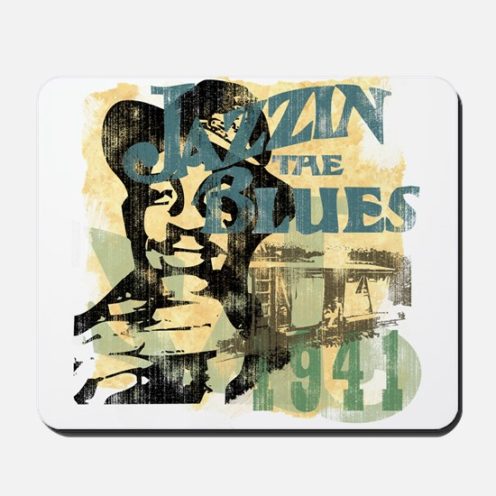 Jazzin The Blues Mousepad