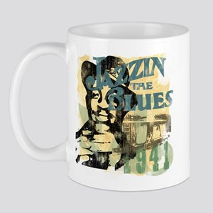 Jazzin The Blues Mug