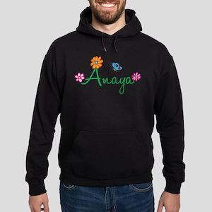 Anaya Flowers Hoodie (dark)