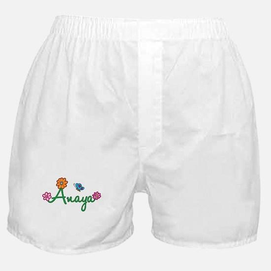 Anaya Flowers Boxer Shorts