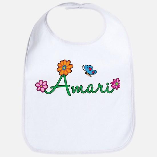 Amari Flowers Bib