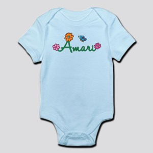 Amari Flowers Infant Bodysuit