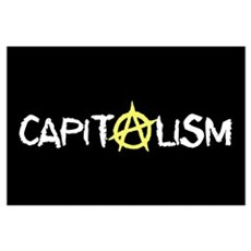Anarcho-Capitalist Framed Print