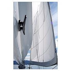 Boating the San Juans Poster