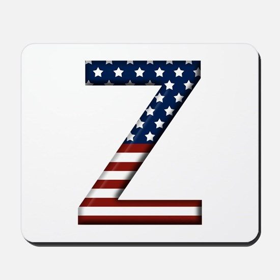Z Stars and Stripes Mousepad