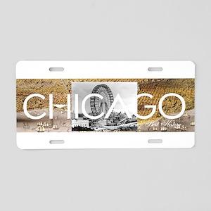 ABH Chicago Aluminum License Plate
