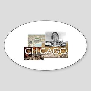 ABH Chicago Sticker (Oval)