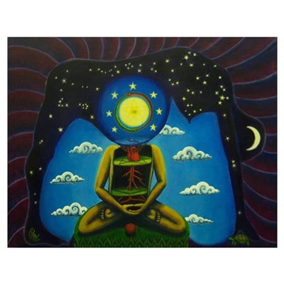 Birth of Buddha Poster