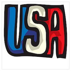 USA Design Poster