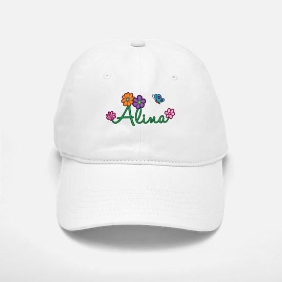 Alina Flowers Baseball Baseball Cap