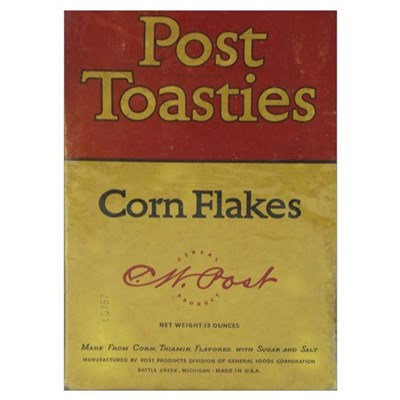 Post Toasties Box Front Poster