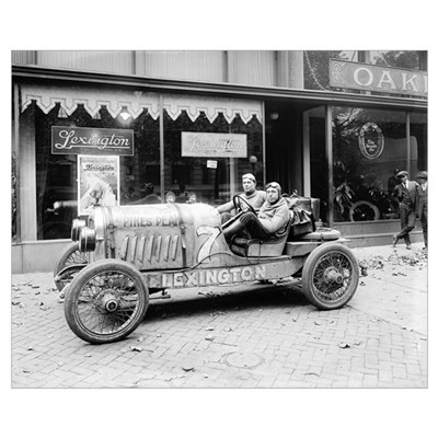 Pikes Peak Champion Race Car, 1922 Poster