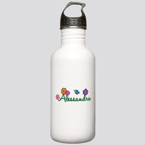 Alessandra Flowers Stainless Water Bottle 1.0L