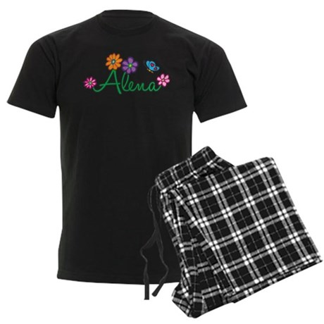 Alena Flowers Men's Dark Pajamas