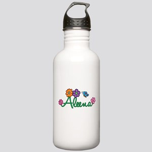 Aleena Flowers Stainless Water Bottle 1.0L