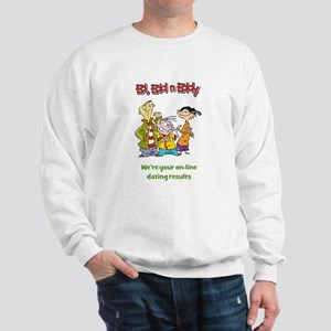 On-line Dating Results Sweatshirt
