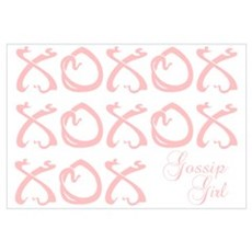 Gossip Girl XOXO Framed Print