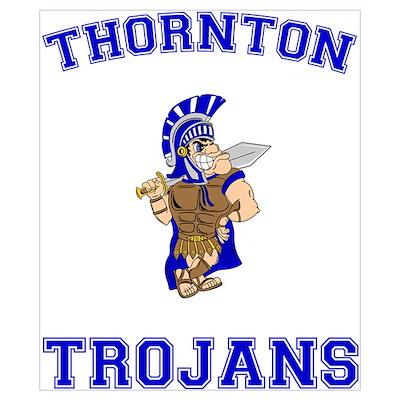 Thornton Trojans Poster