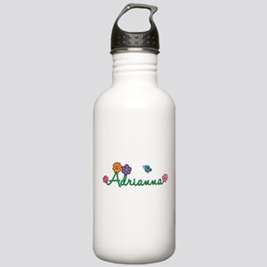 Adrianna Flowers Stainless Water Bottle 1.0L