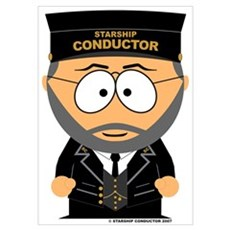 Starship Conductor Poster