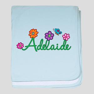 Adelaide Flowers baby blanket