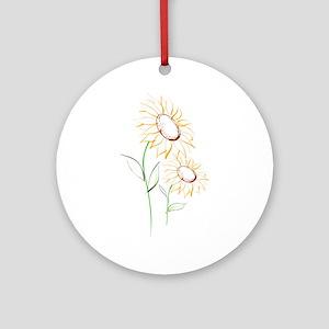 Sunflowers813 Ornament (Round)