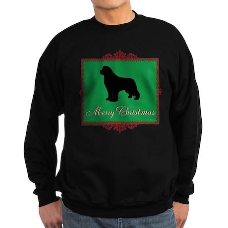 Merry Christmas Newfoundland Sweatshirt (dark)