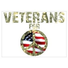 Veterans For Peace Sign Poster