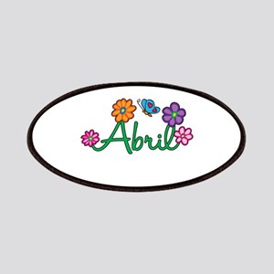 Abril Flowers Patches
