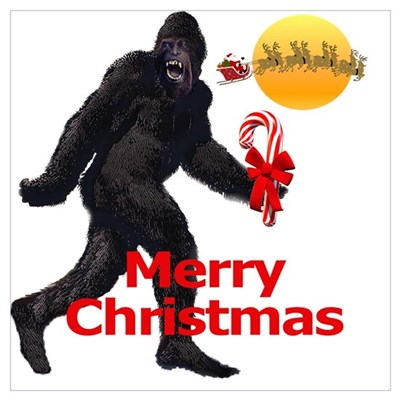 Image result for bigfoot santa