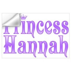 """Princess Hannah"" Wall Decal"